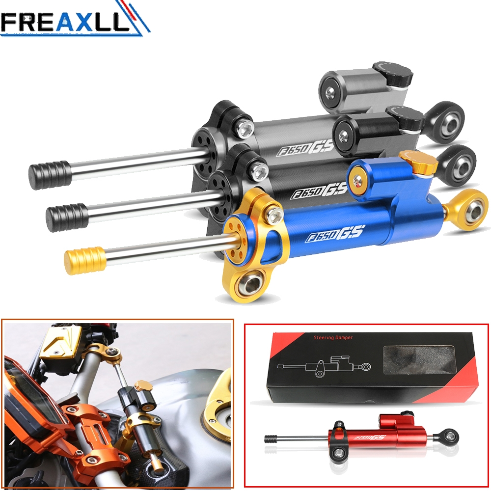 For BMW F650 GS F650GS F 650 GS Motorcycle Accessories Damper Stabilizer Damper Steering Reversed Safety Control
