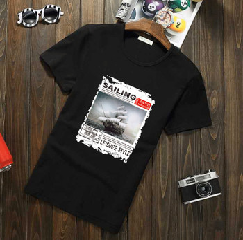 Summer new women's street letter characters print loose short-sleeved T-shirt  6228
