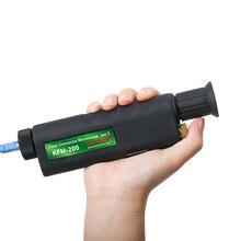 送料無料ハンドヘルド400X光ファイバ検査顕微鏡2.5ミリメートルと1.25ミリメートルアダプタ