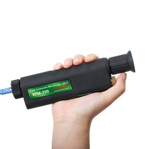 Image 1 - משלוח חינם כף יד 400X אופטי סיבי פיקוח מיקרוסקופ עם 2.5mm ו 1.25mm מתאם