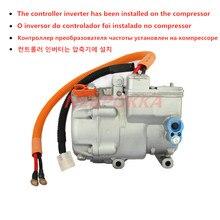 Novo compressor elétrico automotive do ar condicionado, compressor elétrico dc 12v 24v 48v 72v 96v 144v 320v 530v
