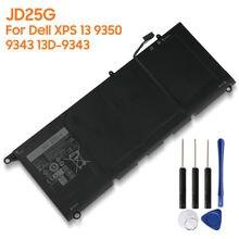Оригинальная сменная батарея jd25g jhxpy 90v7w 0n7t6 5k9cp для