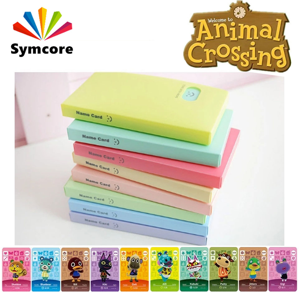 Amiibo Animal Crossing Cards Holder Binders Albums For for NS Switch Game Business Card Book 120 Capacity