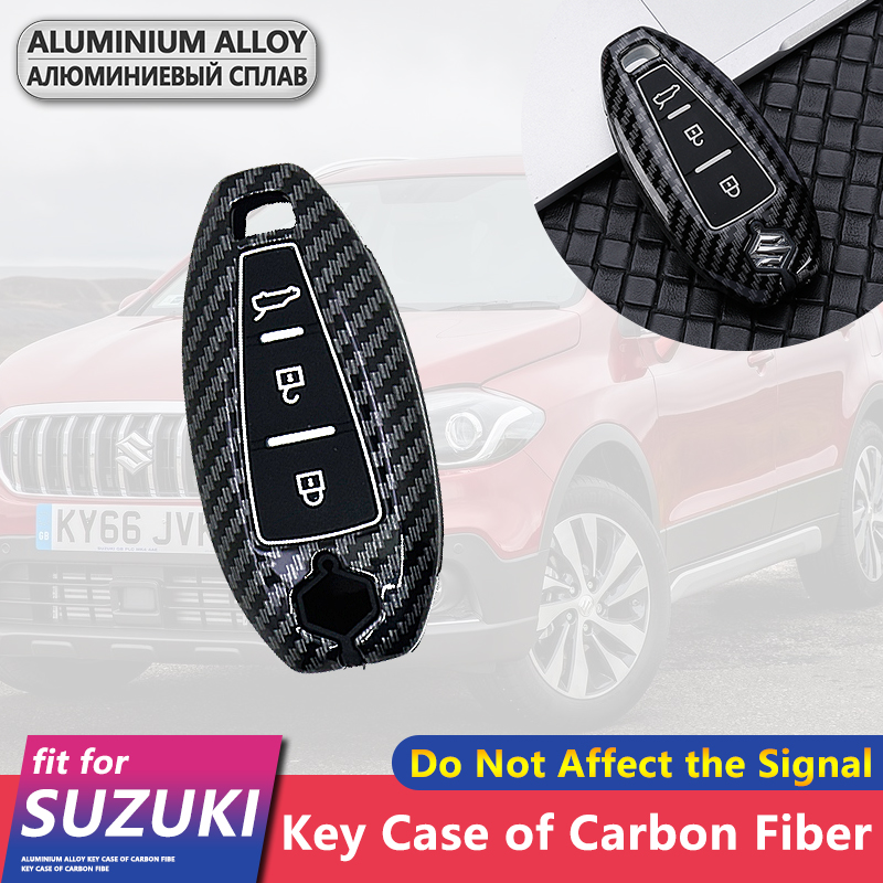 Silicone Remote Key Case Fob Cover For Suzuki Swift Ignis S-Cross Vitara Ignis