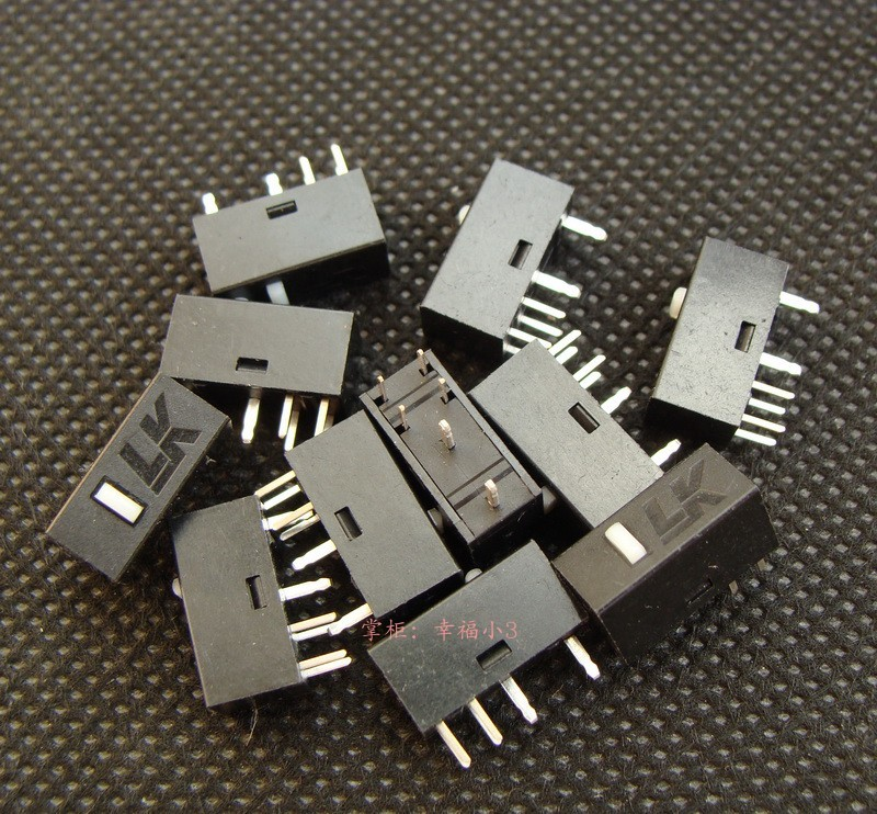 Original Light Strike LK 6 Pins Mouse Micro Switch For A4TECH Bloody Mouse A91 P93 A90 A60 Etc Micro Buttons