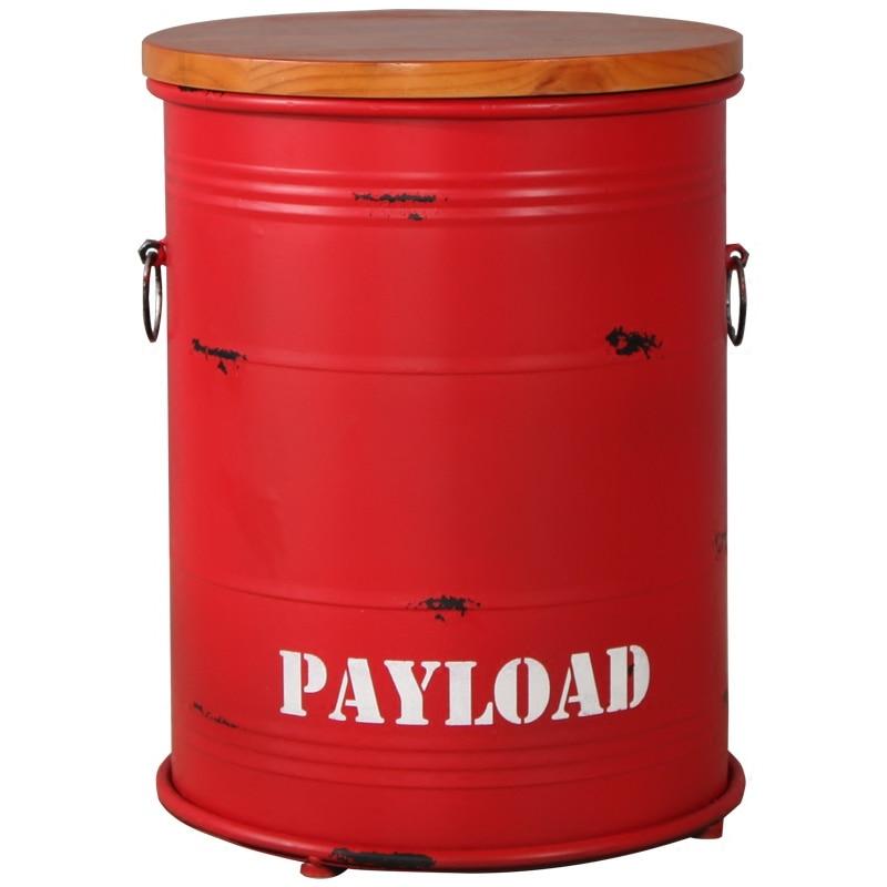 Американский Ретро Барный Стул масло rel стул краска rel круглое металлическое ведро для хранения| |   | АлиЭкспресс