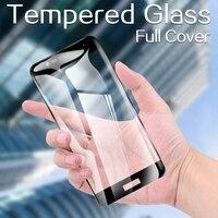 Pieno di Vetro di Copertura Per Asus ZenFone 3 ZE520KL Live L1 L2 ZA550KL ROG Del Telefono 3 5 Protezione Dello Schermo In Vetro Temperato pellicola protettiva