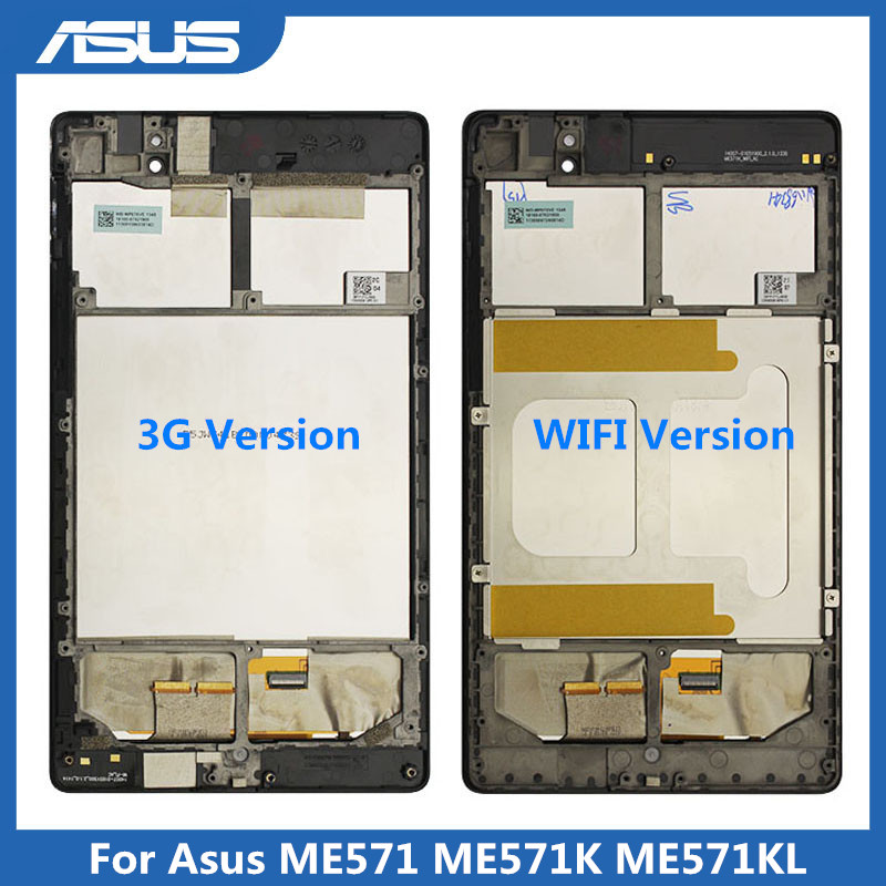 <font><b>Asus</b></font> Original <font><b>LCD</b></font> Display Touch Screen Für <font><b>Asus</b></font> Google <font><b>Nexus</b></font> <font><b>7</b></font> 2nd <font><b>2013</b></font> FHD ME571 ME571K ME571KL 3G /WiFi Version image