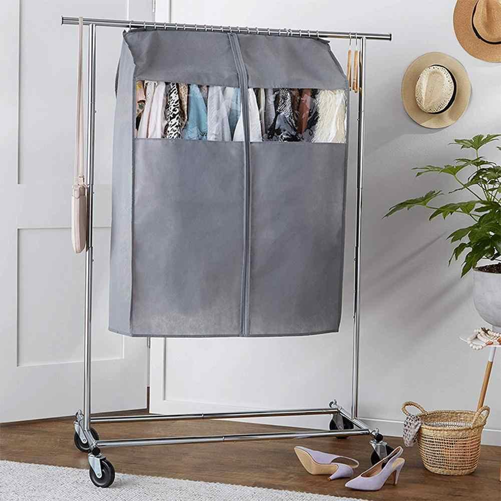 Фото 43 дюймов вися мешок пыленепроницаемый нетканые ткани одежде с помощью Крышка для