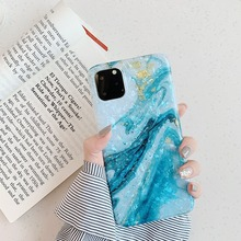 Glitter Shell Patterned Phone Case for IPhone 11 Fashion Gradient Soft TPU Pro Max Coque X XR Back Cover