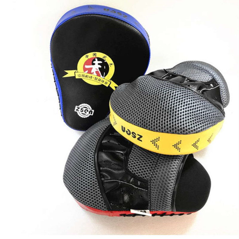 Flat Punch Mitts Focus Mitts Hand-Held Fingers Target Boxing Muay Thai Tai Quan Dao Ba Pu Sanda Training Protective Clothing