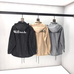 2020 primavera Estate a prova di Sole dei vestiti delle Donne di Parigi Lettera Del Ricamo Del Cotone Nero Manica Corta da uomo T-Shirt B53