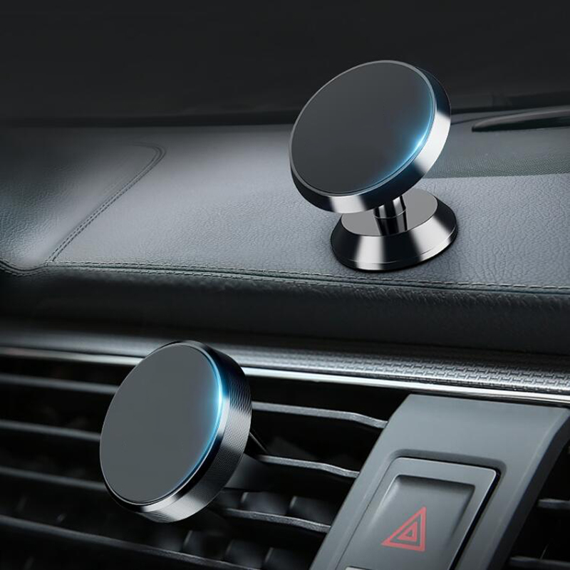 Car Phone Holder Magnetic Mobile Smartphone Stand Magnet Support Cell In Car GPS Air Vent Mount Holder For IPhone For Xiaomi