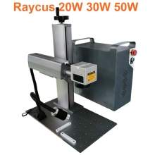200*200mm 30W Laser Marking Machine Metal Support multiple languages raycus Scource
