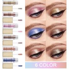 SACE LADY 6 colors/lot Liquid Glitter Eyeshadow Waterproof L