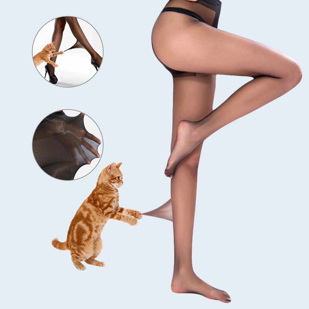 Wanita Yang Fleksibel Bisa Dipecahkan Stoking Wanita Nylon 15D Tembus Sederhana Seksi Wanita Seamless Invisible Stocking