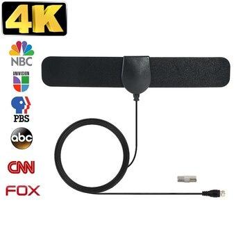 цена на DTA-180 DVB-T TV Antenna Freeview HDTV 30DB Indoor Digital Antenna Aerial Booster For DVB-T Antena TV HDTV Box Cable