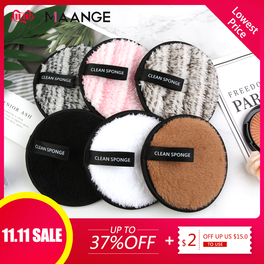 1/3PCS Makeup Removal Sponge Flutter Wash Cleaning Cotton Flapping Reusable Wet Sponge Face Puff Soft Natural Cleaner Tools NEW-in Cosmetic Puff from Beauty & Health