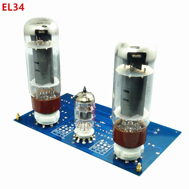 EL34 El34b 10W Single-Ended Class A Tube Amplifier Power Amplifer Diy Kit Board