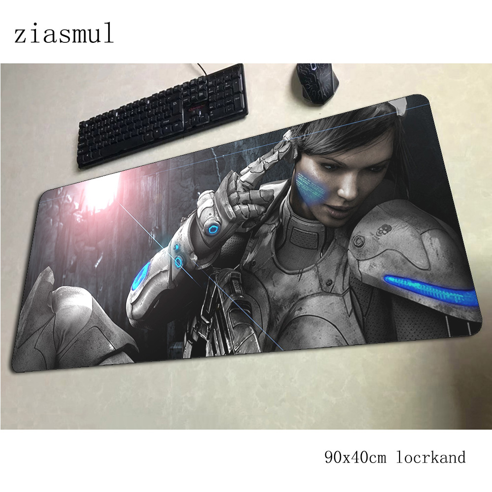 Starcraft Mouse Pad 90x40cm Mousepads Fashion Best Gaming Mousepad Gamer 3d Large Personalized Mouse Pads Keyboard Pc Pad