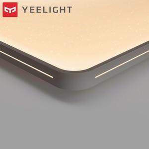 Image 2 - 원래 Yeelight YILAI 90W 직사각형 스타일 할로우 LED 천장 조명 프로 조절 스마트 홈 app