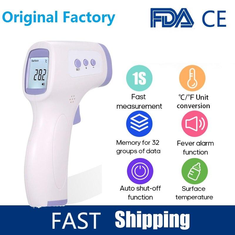 Non-contact Medical Infrared Thermometer Forehead Infrared Temperature Un Meter Digital Temperature Gun Infared Thermometro