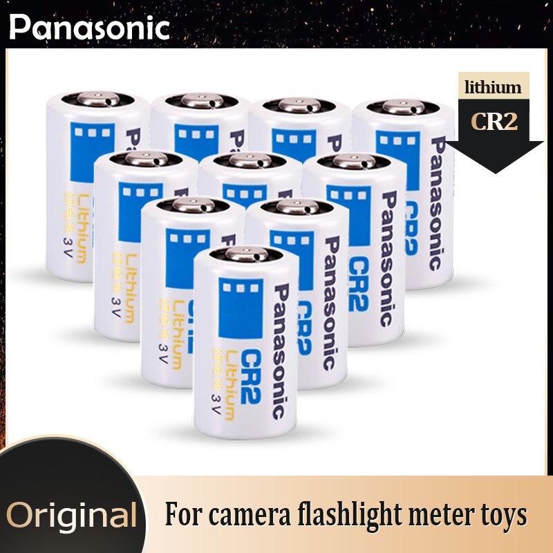 10 шт. Panasonic CR2 CR15H270 CR15266 3 в 800 мАч литиевая батарея для цифровой камеры фотографическое устройство светодиодный фонарик дверные звонки