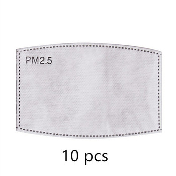 10 pcs/lot PM2.5 Filter Paper 5-layer Filter Anti Dust Mask Filter Paper
