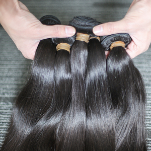 Image 4 - Rosabeauty 4 חבילות/הרבה 10 28 אינץ צבע טבעי ברזילאי ישר חבילות שיער לא מעובד ערב 100% שיער טבעי מארג כיתה 10A