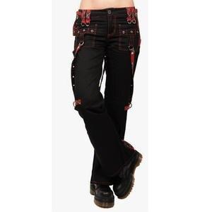 Cargo-Pants Joggers Long-Trousers Regular-Multi-Pockets Harajuku Black Girl High-Waist