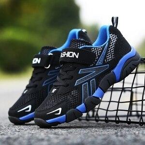 Image 5 - 2020 wiosna jesień buty dla chłopców Casual sport Pu skórzane trampki dla dzieci mokasyny solidne antypoślizgowe buty dla dzieci dla chłopców