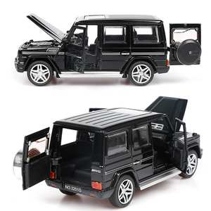 Car Car-Model-Toy Back-Toy Pull Sound-Light Gift SUV Children 1:32-Alloy For Boys G65