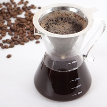 Stainless Dteel Coffee Filter Capsule Reusable Refillable Compatible with Net without chassis