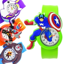 Baby Happy Time Toys Children Watch for Boys Girls Kid Birthday Gift Kids Digital Watch Child Patted Watch Men Student Часы