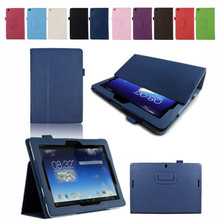 Ultra Thin Magnetic Flip Leather Case for ASUS MeMO Pad FHD 10 ME301T ME302 ME302C ME302KL Tablet PC Luxury Tablet Cover protective matte arm screen guard film for asus memo pad fhd 10 me302c transparent 3 pcs