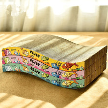 Cat Scratcher Kitten Scratching Bed Pad Board Toy Mat For Pet Game Grinding Nails Durable Corrugated Paper Protect Furniture