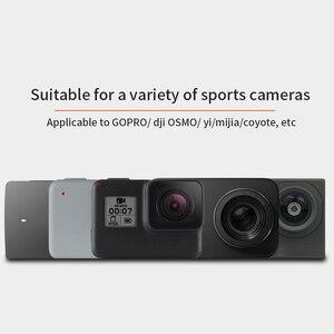 Image 5 - Quay 360 Độ Ba Lô Kẹp Gắn Cho GoPro Hero 8 7 6 5 4 dành cho Đi Pro Thể Thao Xiaomi máy Quay hành động Phụ Kiện