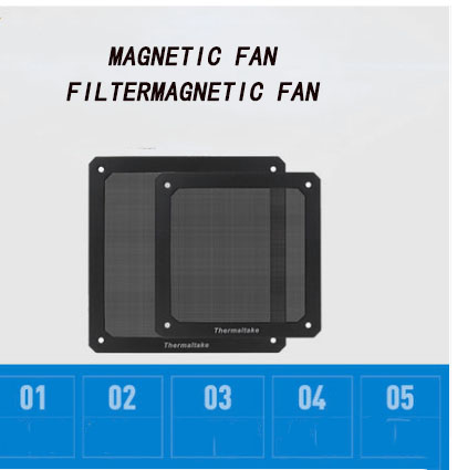 Chassis Fan Dust Filter 12cm Magnetic Fan Filter Dust Cover Filter Dustproof