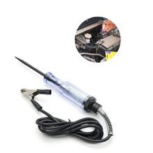 Автоматическое Измерение 6-24 В, карандаш, проверка электрической ручки, автомобильный тест, карандаш, лампа, инструменты для ремонта цепи, диагностические инструменты