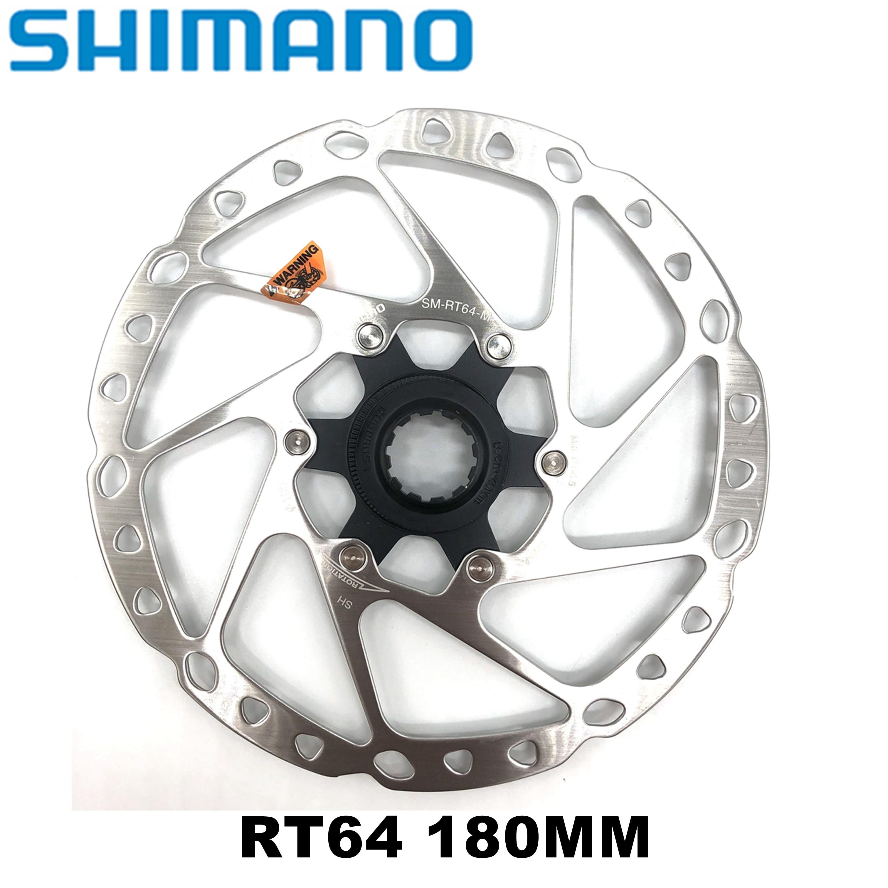 Shimano Deore SM RT64 RT54 Center lock rotor bike Disc Brake rotors 160MM 180mm SM-RT64 SM-RT54 for Deore M610 M6000