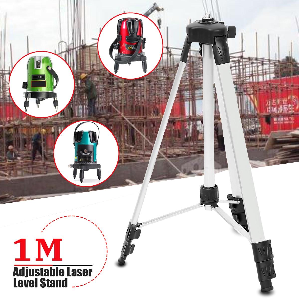 1 M 3-Weg Stativ Ebene Stehen für Automatische Selbst Nivellierung Laser Level Messung Werkzeug Ebene Stativ Halter Messung werkzeug