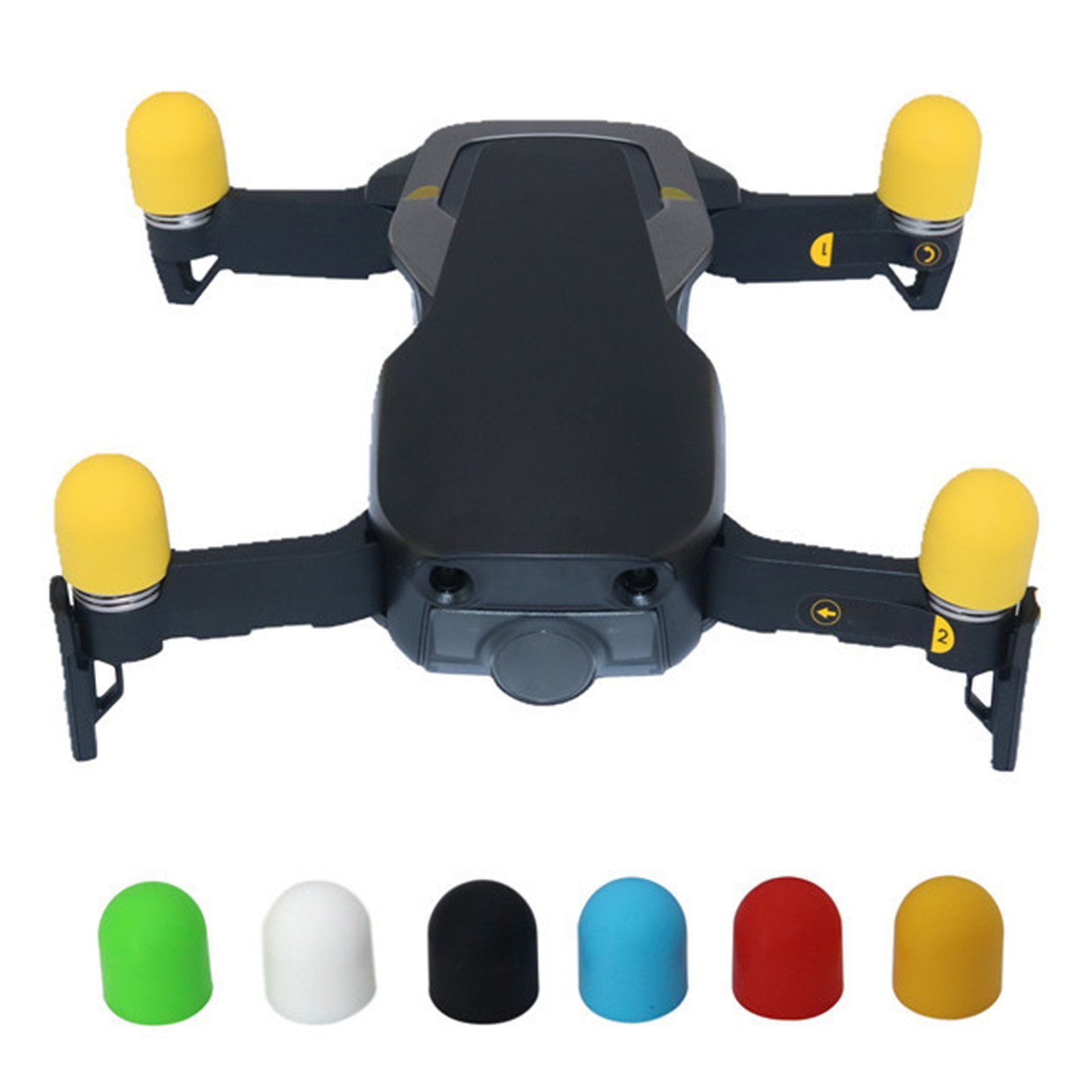 DJI Unmanned Aerial Vehicle Xiao Spark YULAI Mavic Air Motor Zhao Dianyuansu Ji Protective Cover Silicone Case Accessories