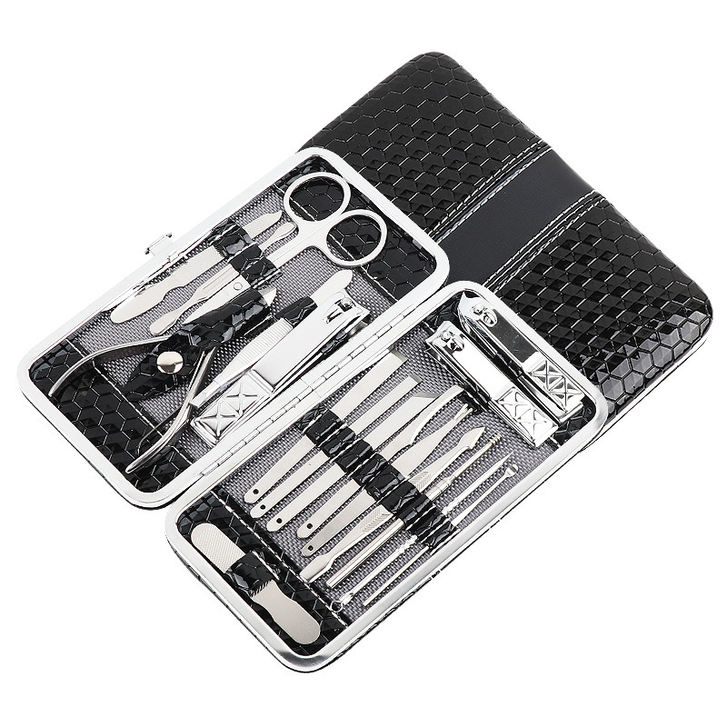 Купить с кэшбэком High quality stainless steel splash 18 piece set nail clipper set Manual family creative hand tool set sale