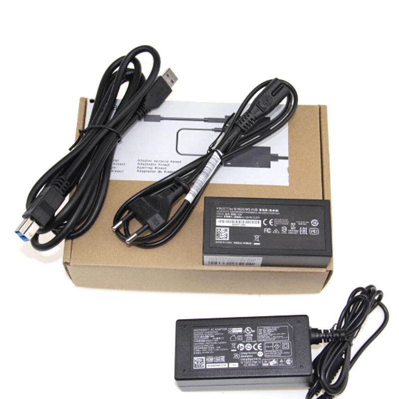2021 Kinect адаптер для Xbox One для XBOX ONE Kinect 2,0 адаптер для ЕС USB адаптер переменного тока 2,0 блок питания для XBOX ONE S