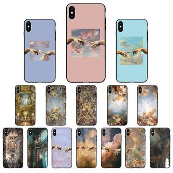 Babaite palace of versailles The Creation of Adam Art Phone Case for iPhone 11 pro XS MAX 8 7 6 6S Plus X 5 5S SE XR SE2020 image