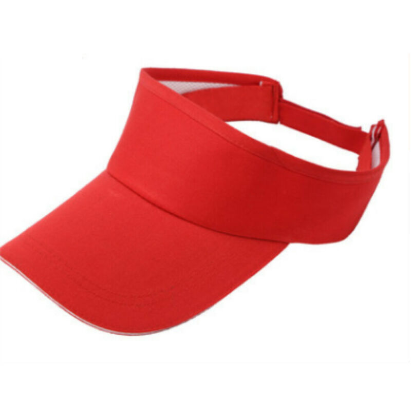 Men Women Summer Hats 2019 Adjustable Sport Headband Classic Sun Sports Visor Hat Cap Outdoors High Quality Hot Sale New Hot
