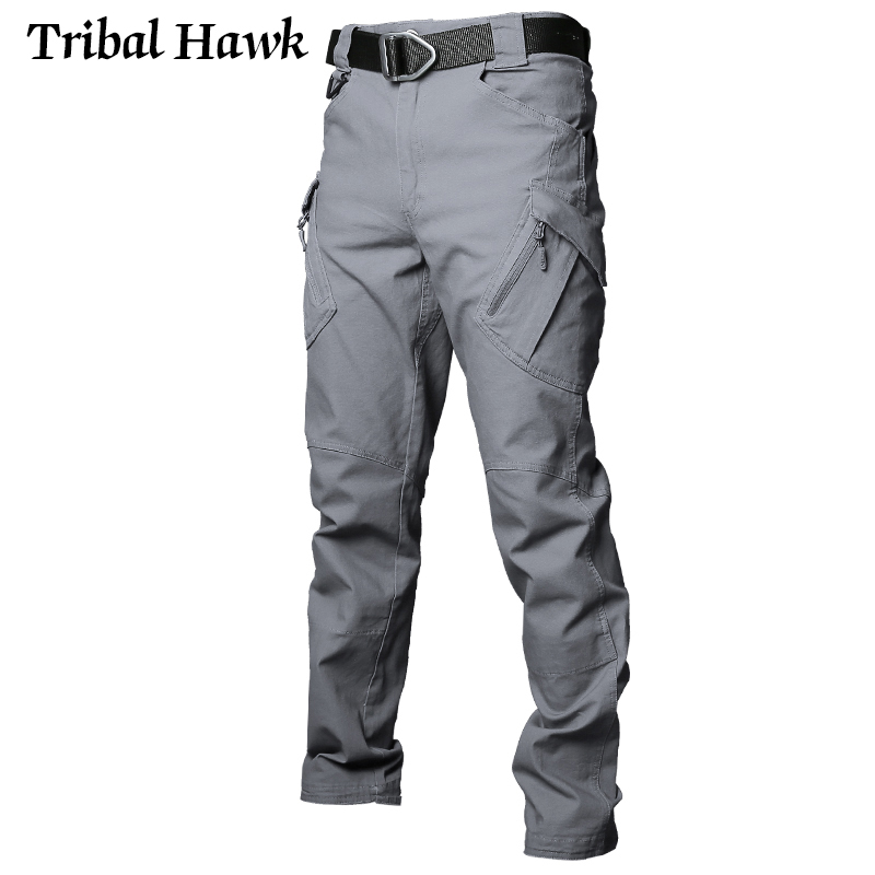 Image 3 - Tactical Cargo Pants Men Military Work Pants Army Stretch Flexible Multi Pockets Casual Cotton Trousers Pantalon Hombre XXXL IX9-in Cargo Pants from Men's Clothing
