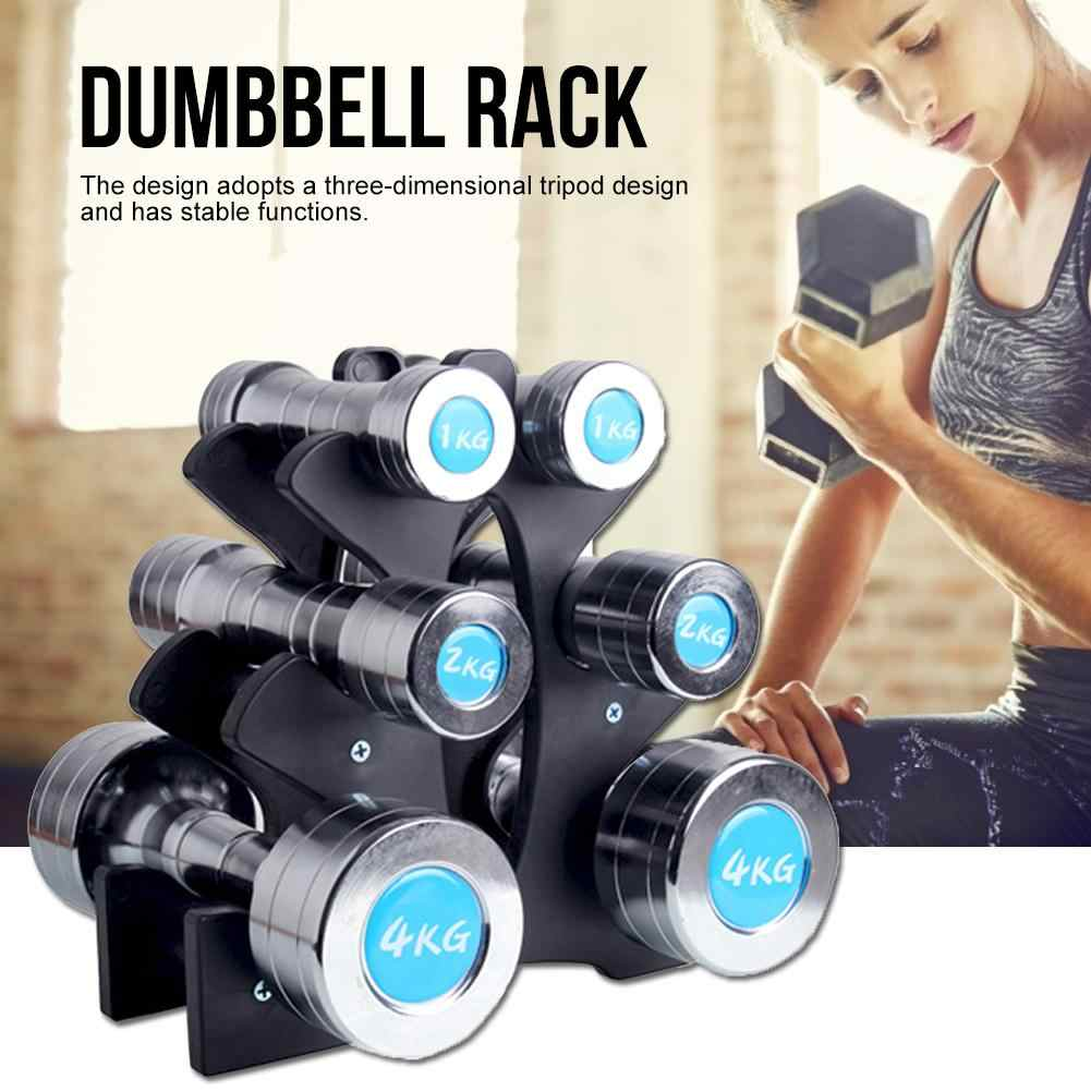 Dumbbell Weight Storage Holder Rack Stand Tier Organizer Home Strength Training