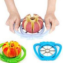 Cortador de cortadores de manzana para cocina, herramienta divisora de fruta de pera, mango de comodidad para cocina, pelador de manzana, envío rápido