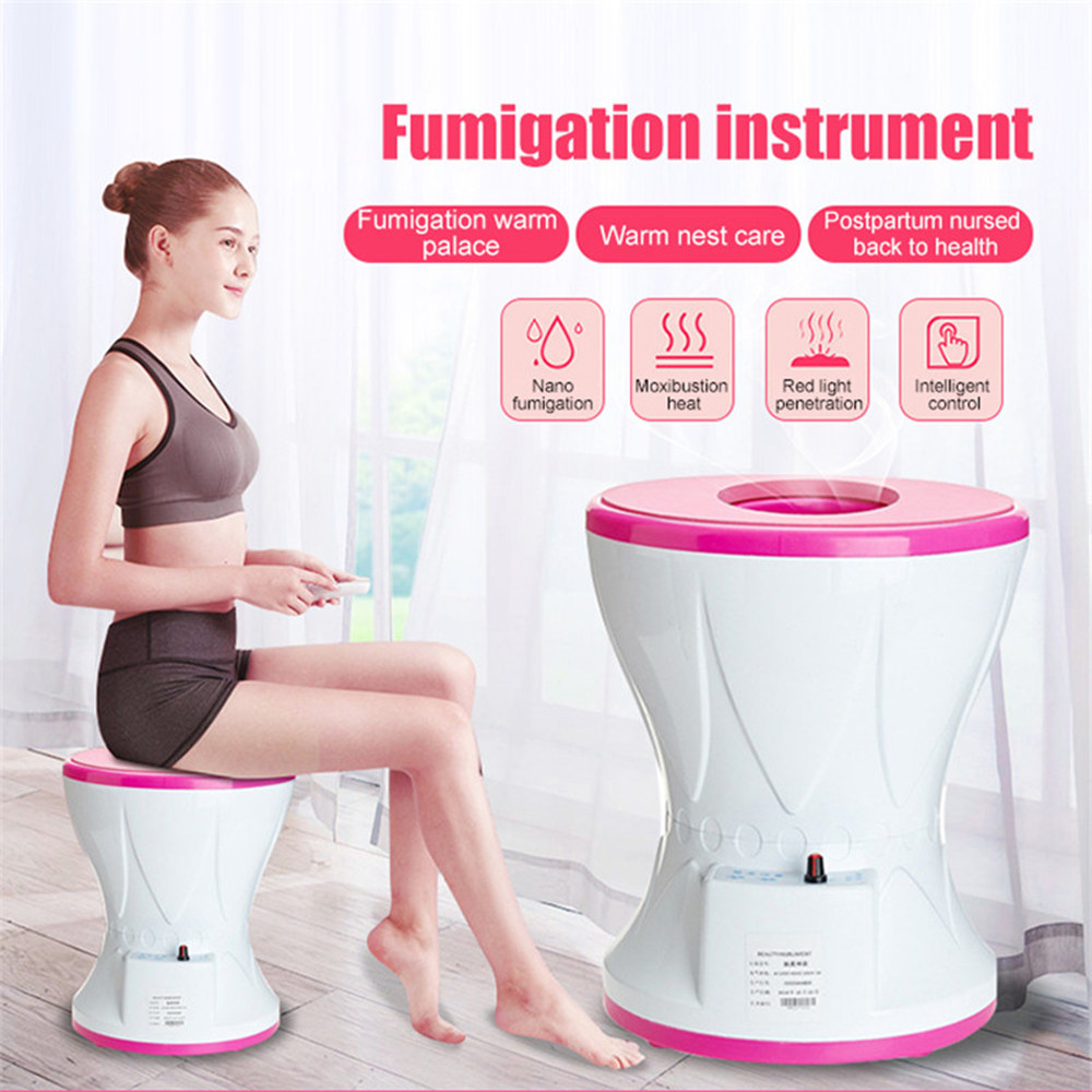 Yoni Steamer Seat Vitality Uterus Protection Fumigation Clean Vaginal Care Fumigation Steamer